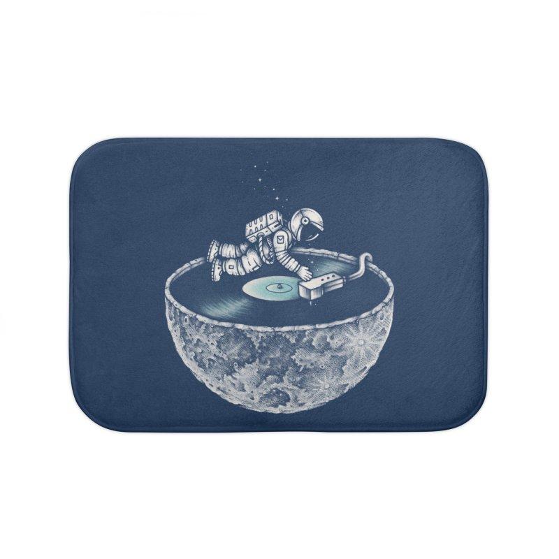 Space Tune Home Bath Mat by Buko