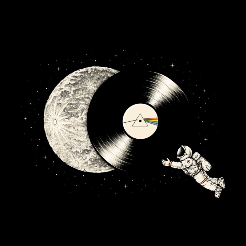 The Dark Side of the Moon by Buko