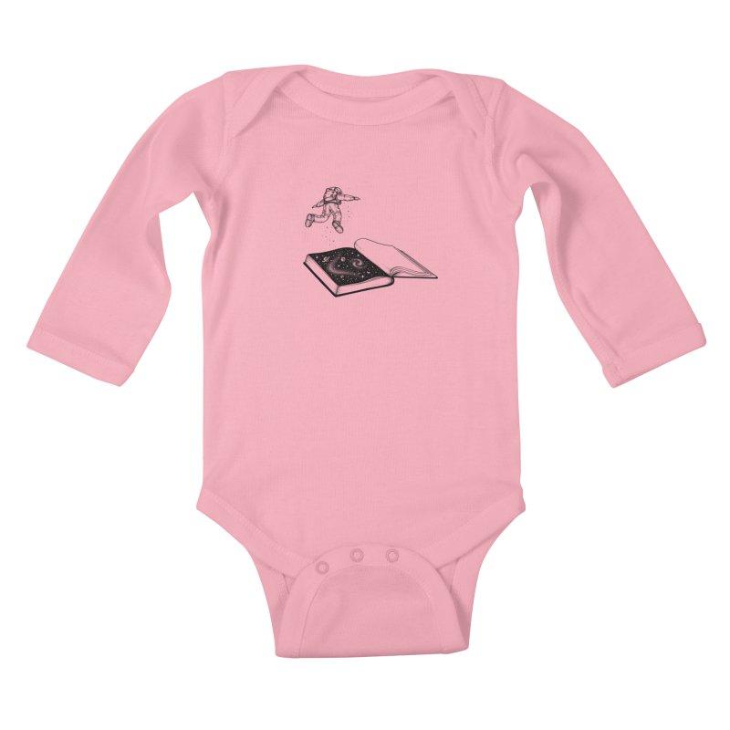 Dive In Kids Baby Longsleeve Bodysuit by Buko
