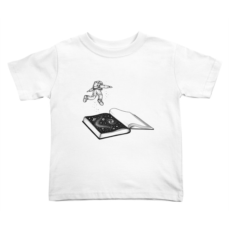 Dive In Kids Toddler T-Shirt by Buko