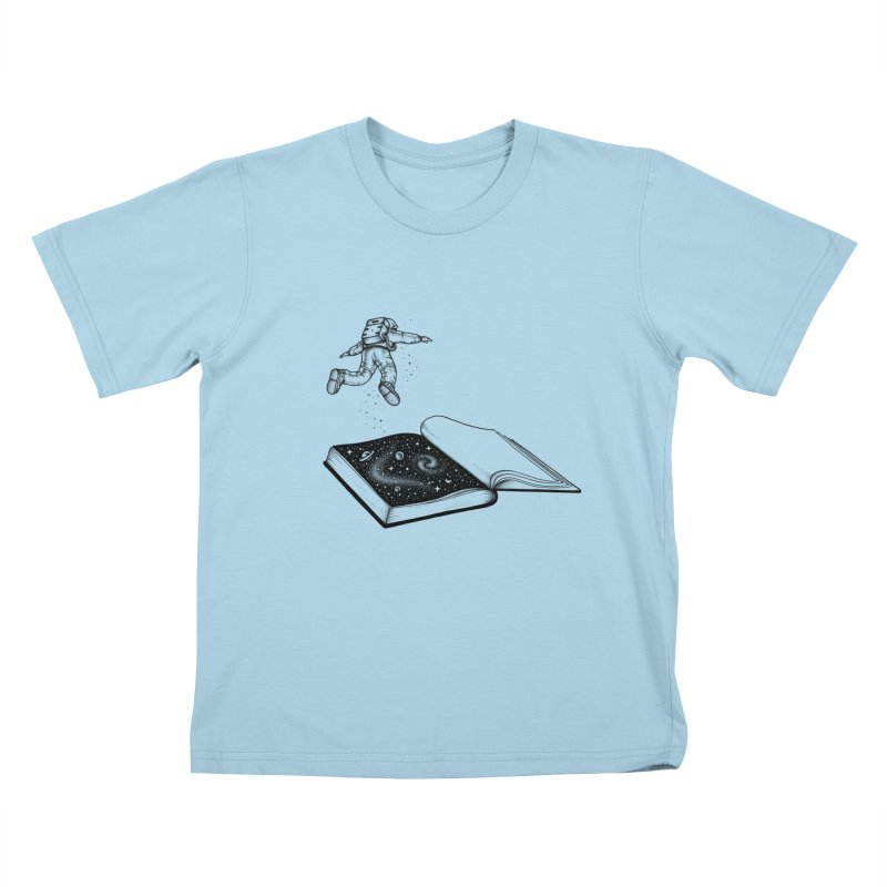 Dive In Kids T-shirt by Buko
