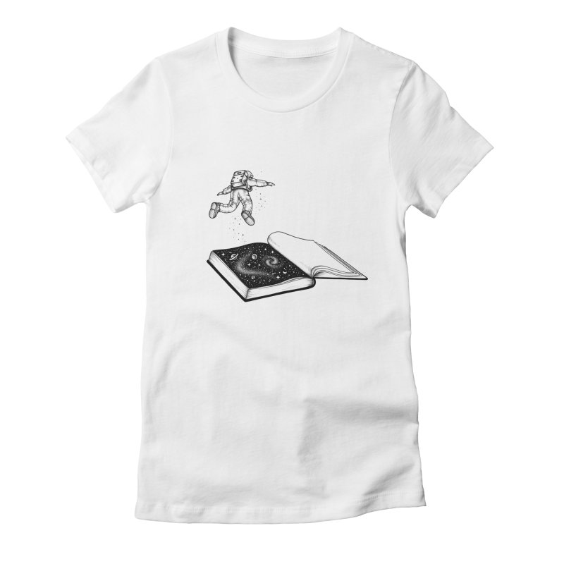 Dive In Women's Fitted T-Shirt by Buko