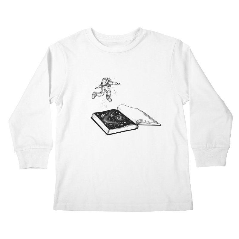 Dive In Kids Longsleeve T-Shirt by Buko