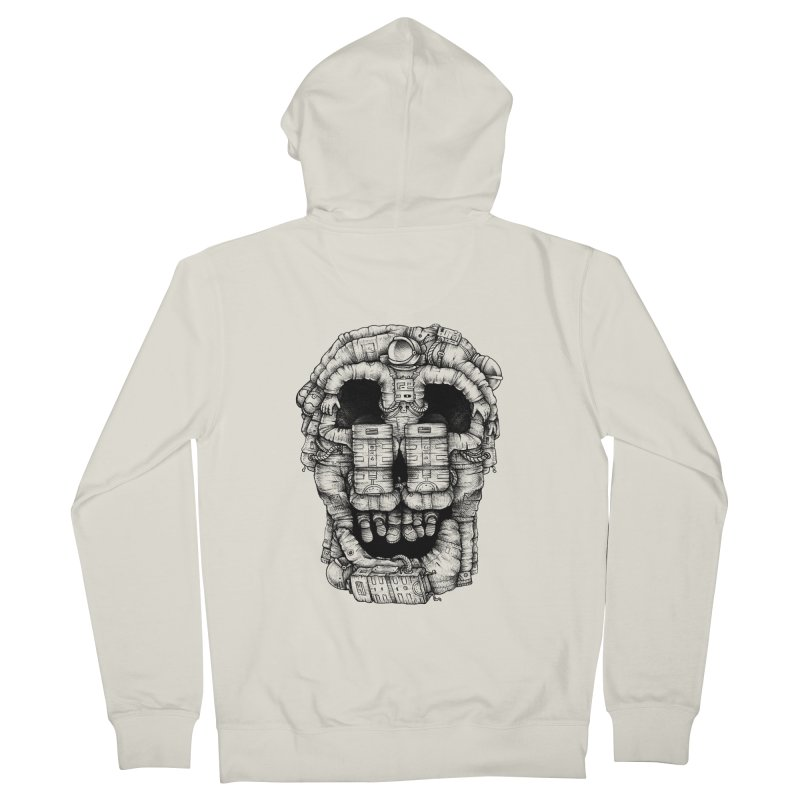 Voluptuous Death  Men's Zip-Up Hoody by Buko