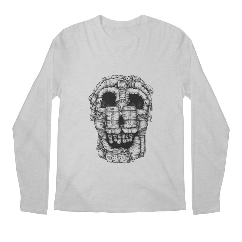Voluptuous Death  Men's Longsleeve T-Shirt by Buko