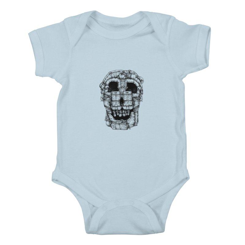 Voluptuous Death  Kids Baby Bodysuit by Buko