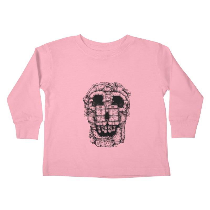 Voluptuous Death  Kids Toddler Longsleeve T-Shirt by Buko