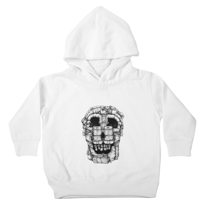 Voluptuous Death  Kids Toddler Pullover Hoody by Buko