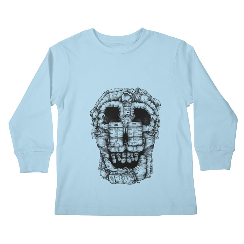 Voluptuous Death  Kids Longsleeve T-Shirt by Buko