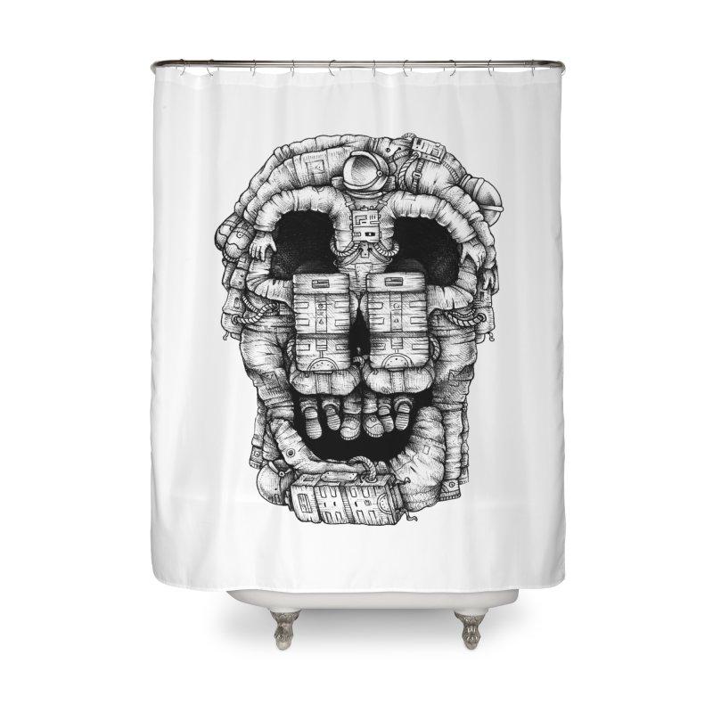 Voluptuous Death  Home Shower Curtain by Buko