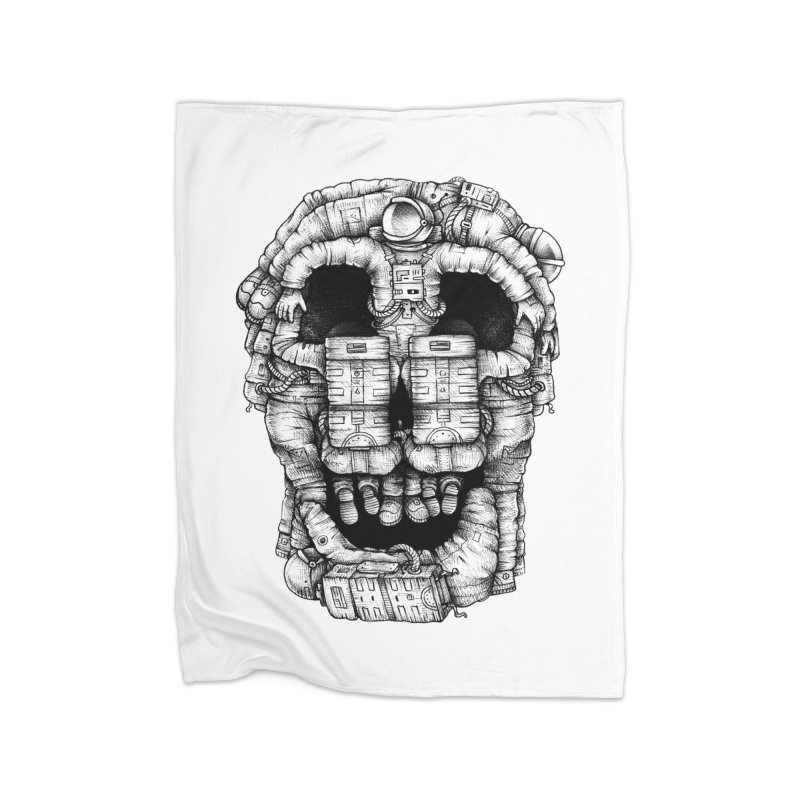 Voluptuous Death  Home Blanket by Buko