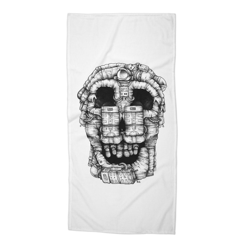 Voluptuous Death  Accessories Beach Towel by Buko