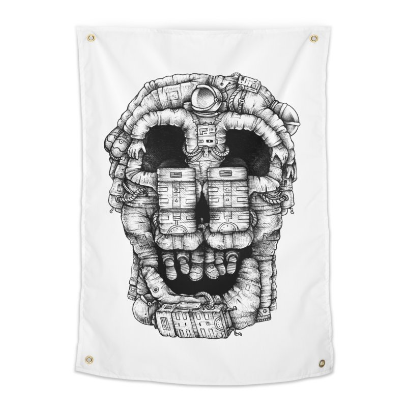Voluptuous Death  Home Tapestry by Buko