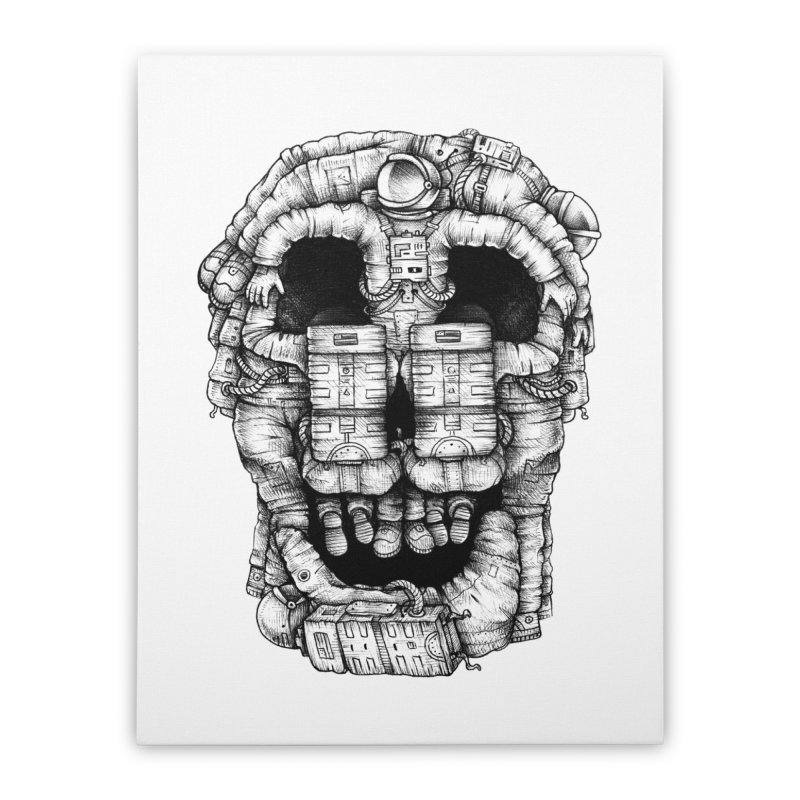 Voluptuous Death  Home Stretched Canvas by Buko