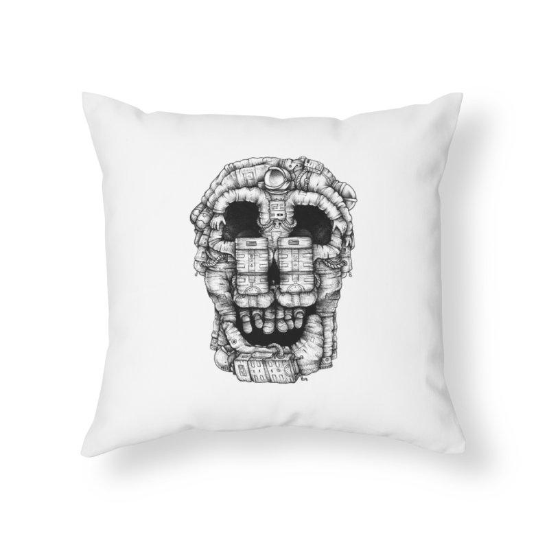 Voluptuous Death  Home Throw Pillow by Buko