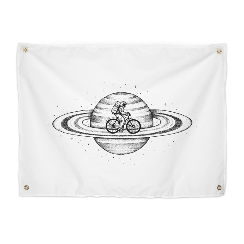 Space Ride Home Tapestry by Buko