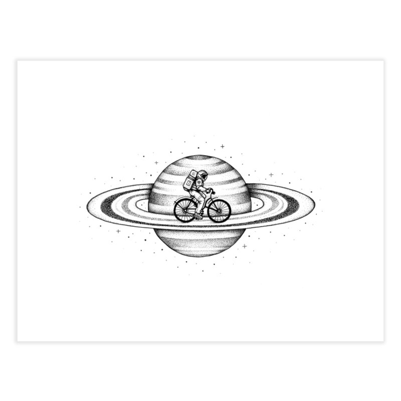 Space Ride Home Fine Art Print by Buko