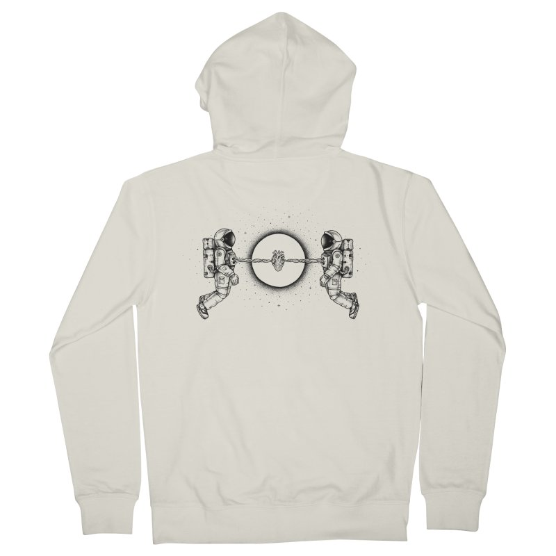 Cosmic Love Men's Zip-Up Hoody by Buko