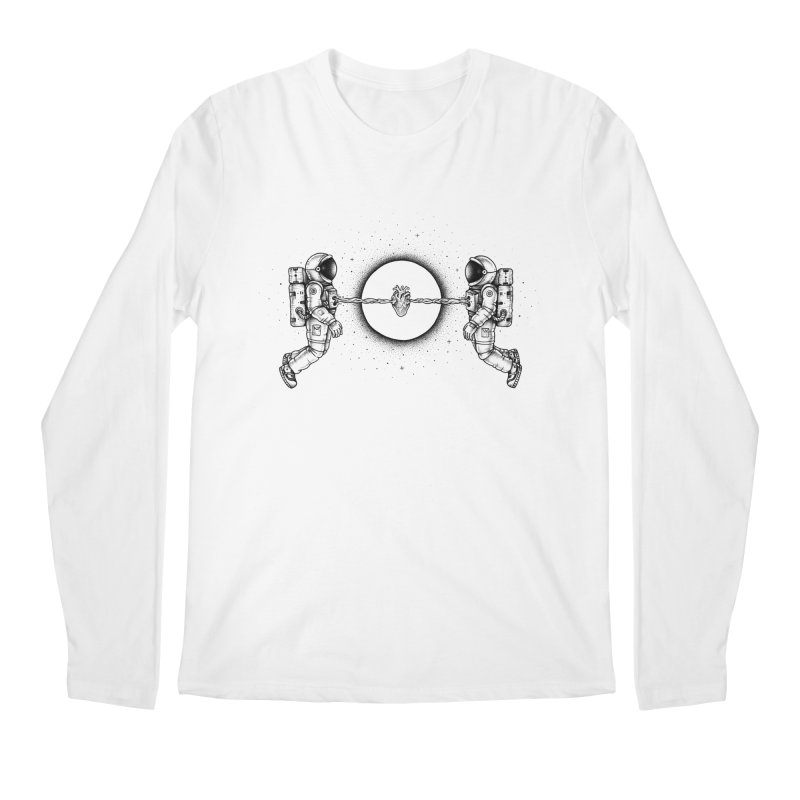 Cosmic Love Men's Longsleeve T-Shirt by Buko