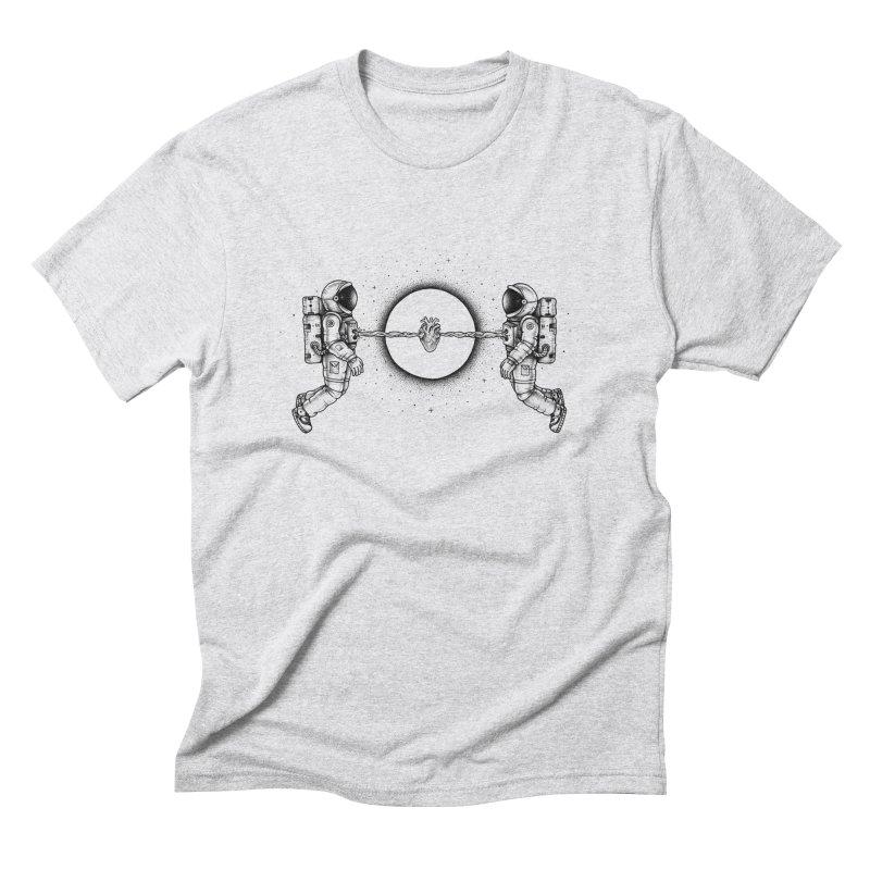 Cosmic Love Men's Triblend T-shirt by Buko