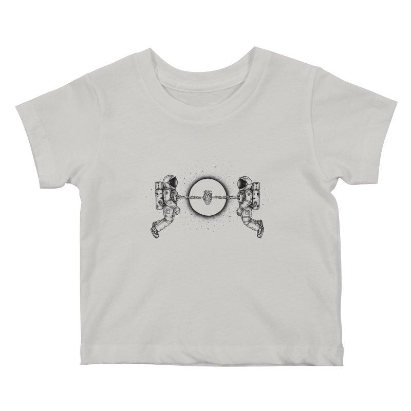 Cosmic Love Kids Baby T-Shirt by Buko