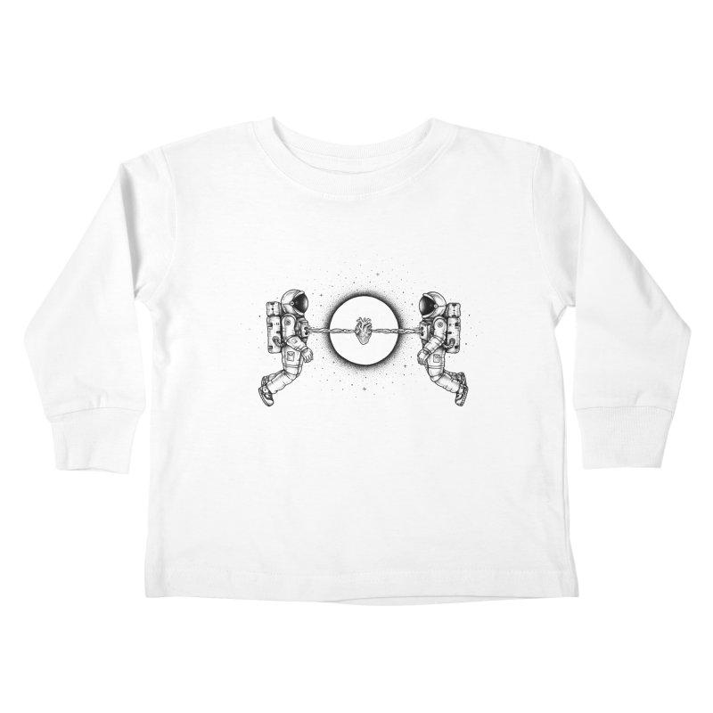Cosmic Love Kids Toddler Longsleeve T-Shirt by Buko