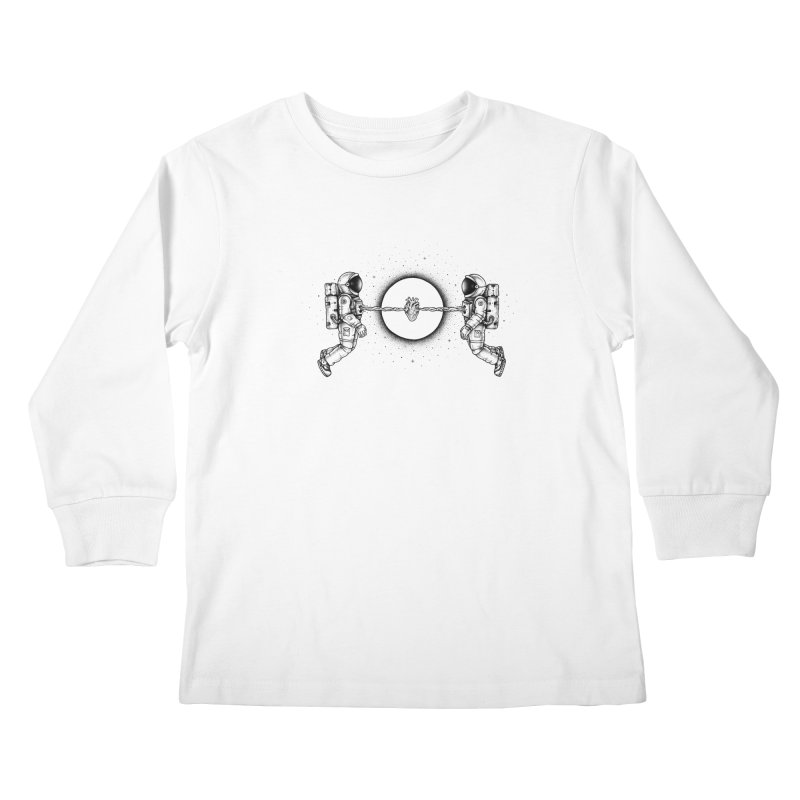 Cosmic Love Kids Longsleeve T-Shirt by Buko
