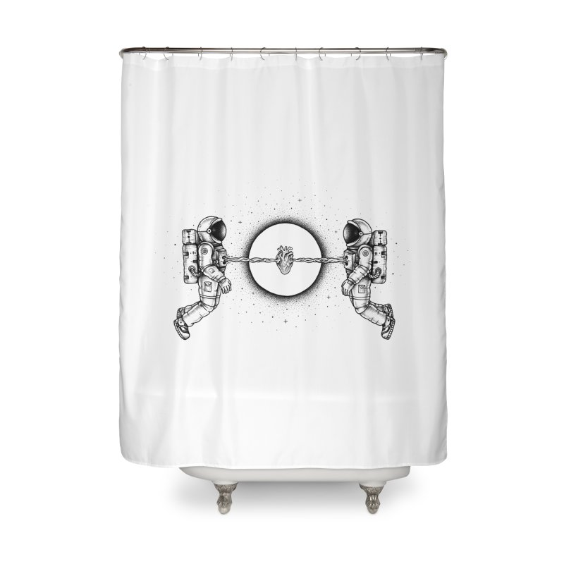 Cosmic Love Home Shower Curtain by Buko