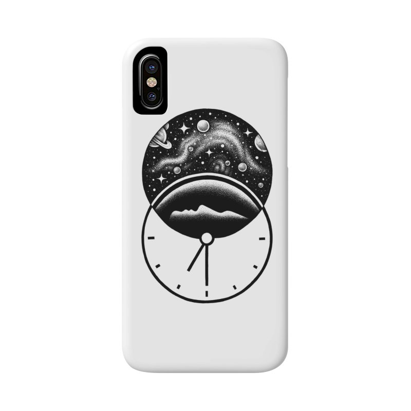 Space and Time Accessories Phone Case by Buko