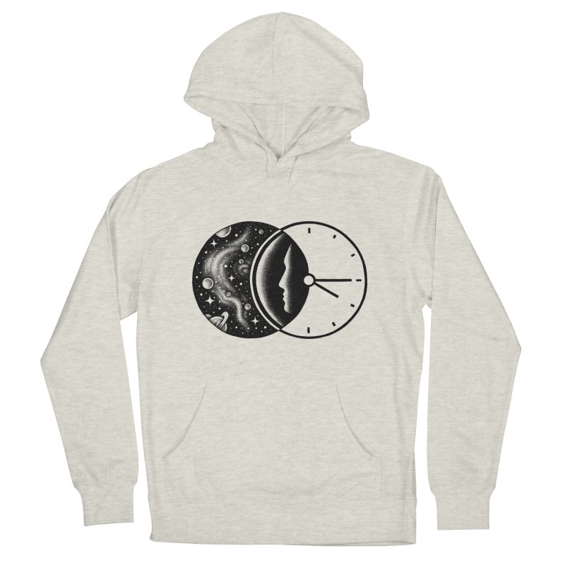 Space and Time Men's Pullover Hoody by Buko
