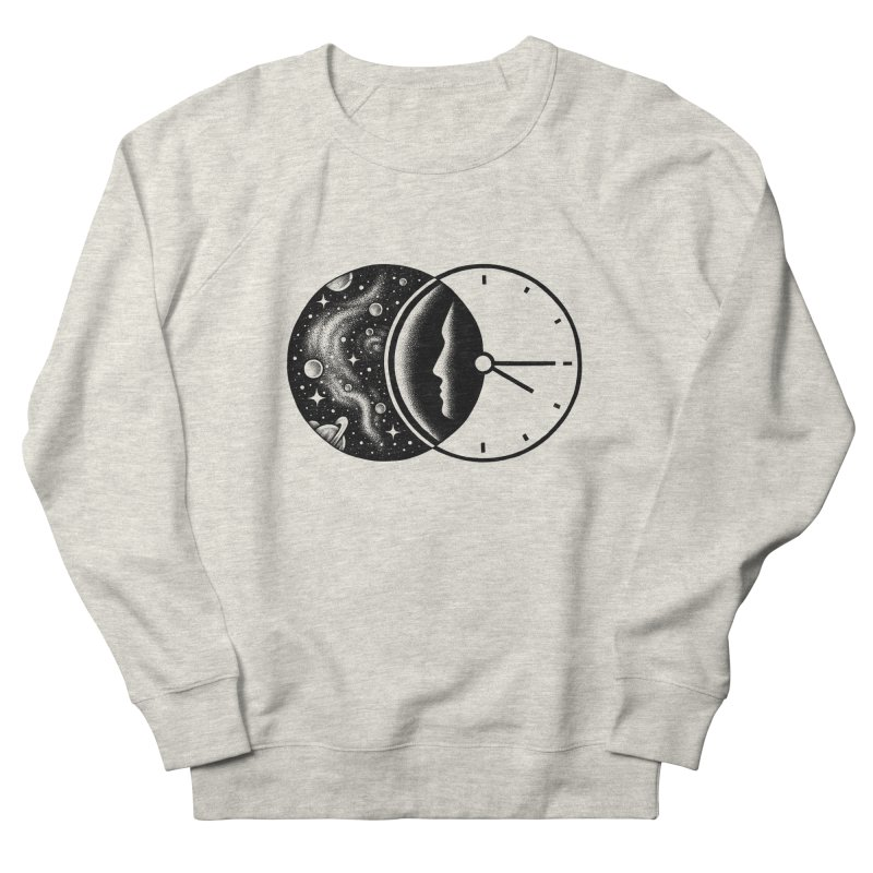 Space and Time Men's Sweatshirt by Buko