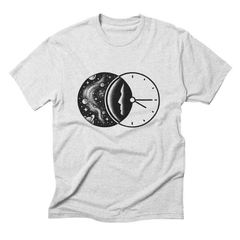 Space and Time Men's Triblend T-shirt by Buko