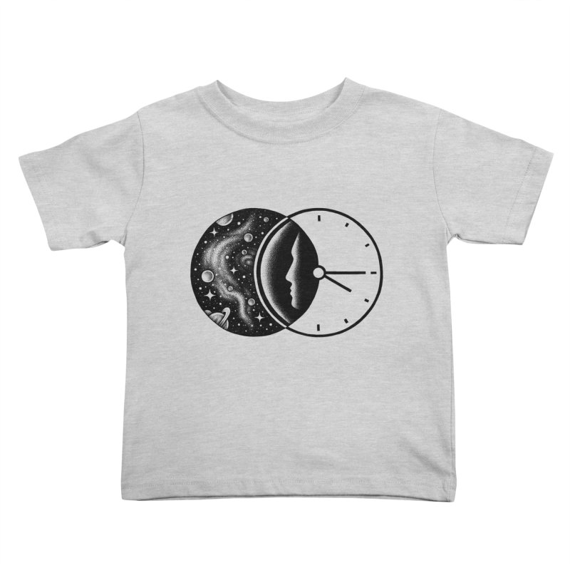 Space and Time Kids Toddler T-Shirt by Buko