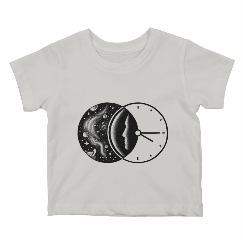 Space and Time Kids Baby T-Shirt by Buko