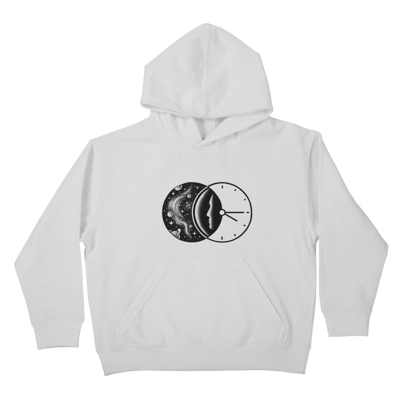 Space and Time Kids Pullover Hoody by Buko