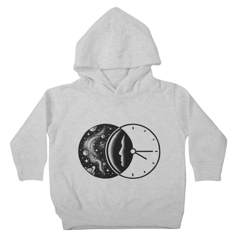 Space and Time Kids Toddler Pullover Hoody by Buko