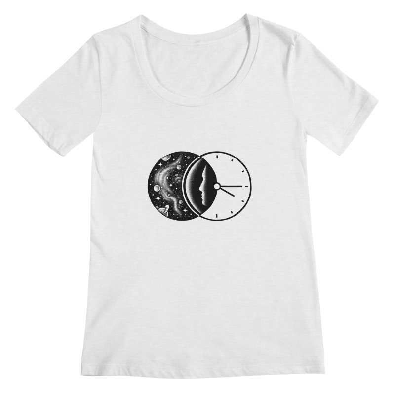 Space and Time Women's Scoopneck by Buko