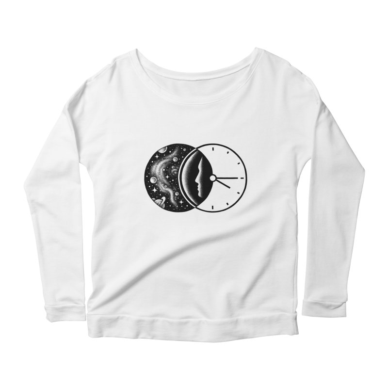 Space and Time Women's Longsleeve Scoopneck  by Buko
