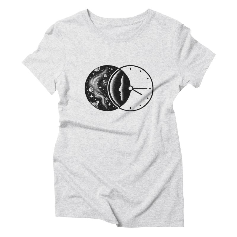 Space and Time Women's Triblend T-shirt by Buko
