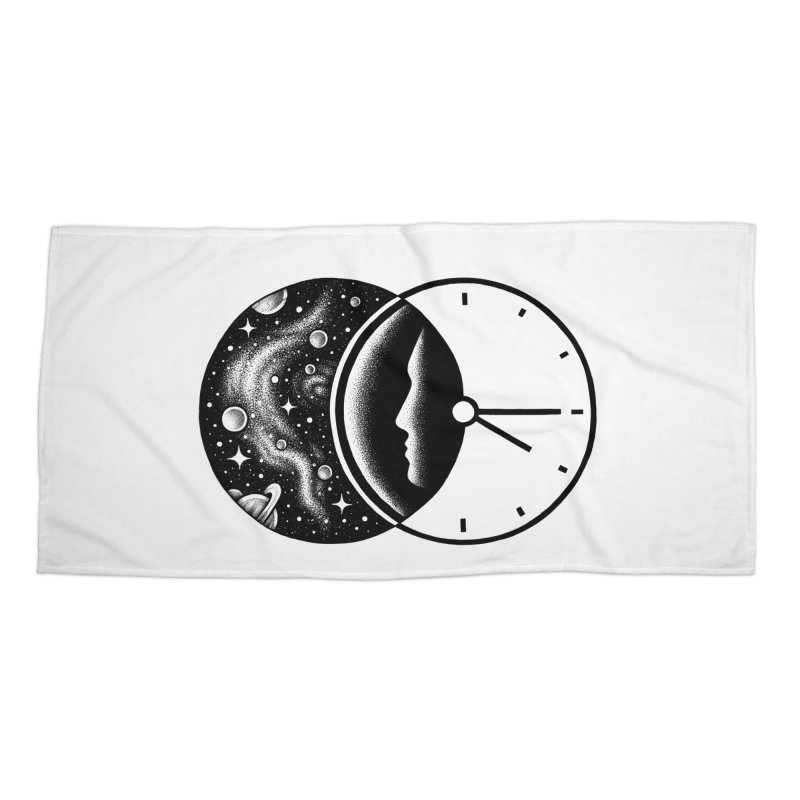 Space and Time Accessories Beach Towel by Buko