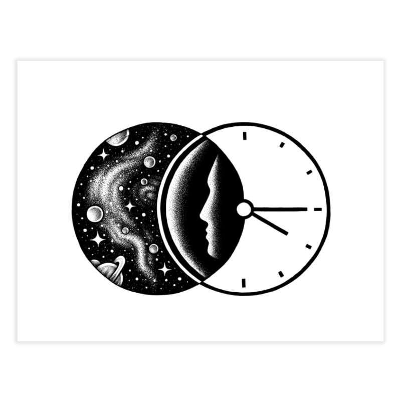 Space and Time Home Fine Art Print by Buko