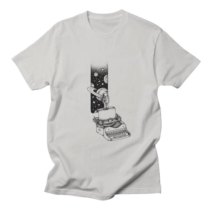 Interstellar Journey Men's T-shirt by Buko