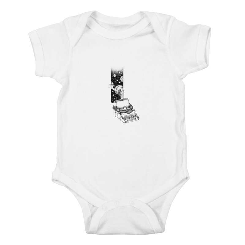 Interstellar Journey Kids Baby Bodysuit by Buko
