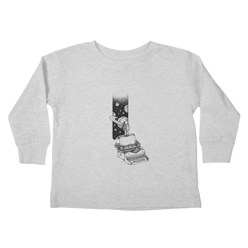 Interstellar Journey Kids Toddler Longsleeve T-Shirt by Buko