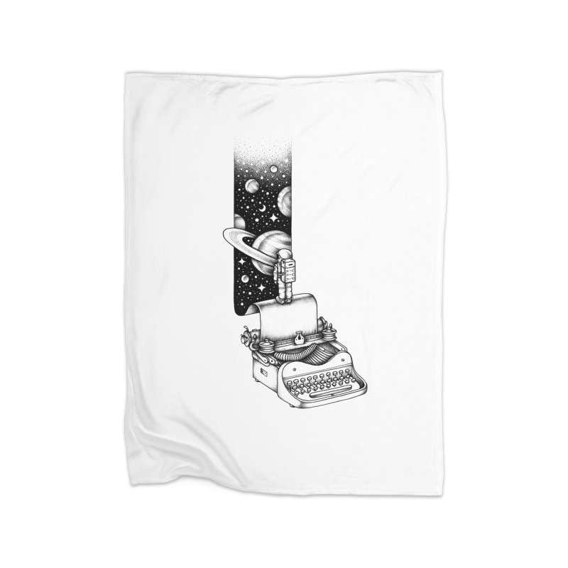 Interstellar Journey Home Blanket by Buko