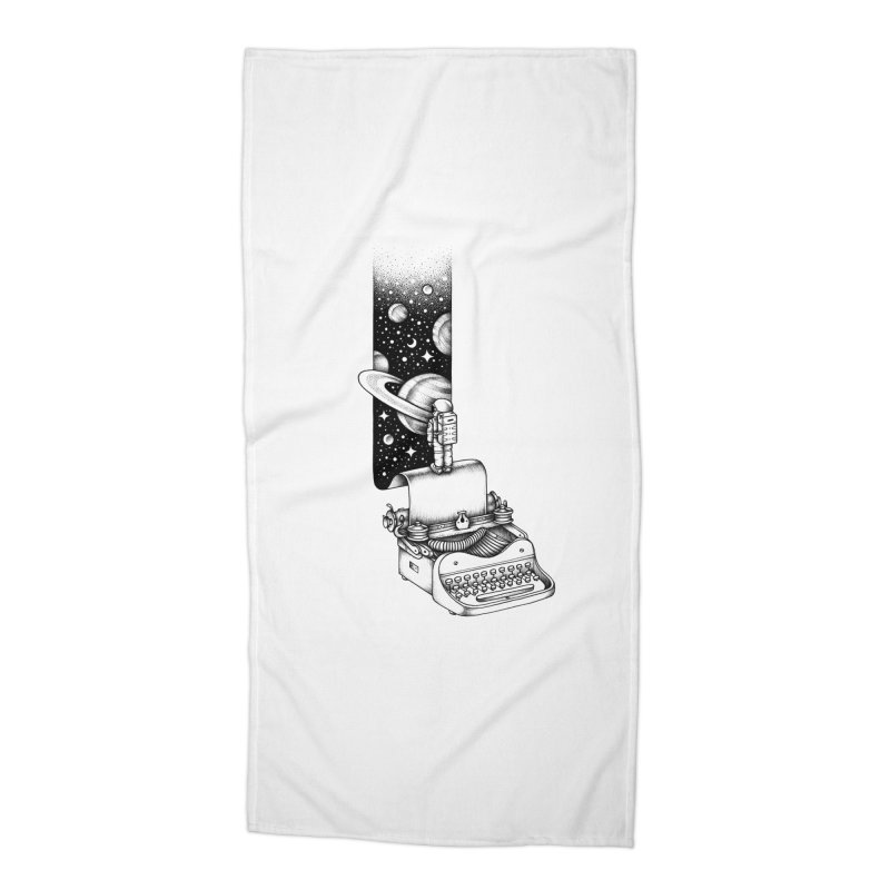 Interstellar Journey Accessories Beach Towel by Buko