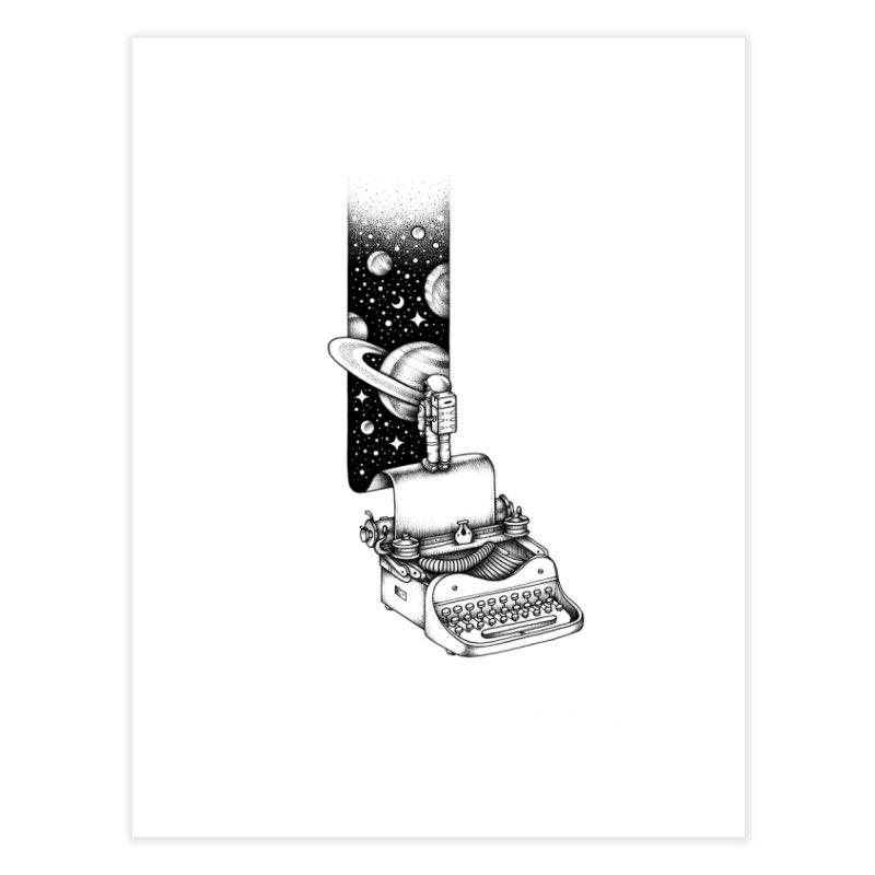 Interstellar Journey Home Fine Art Print by Buko