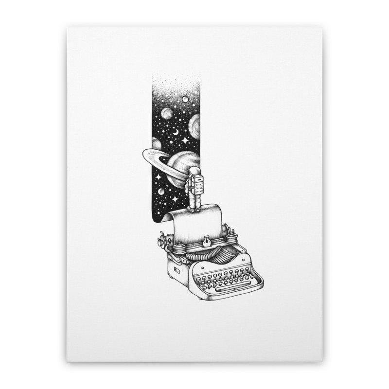 Interstellar Journey Home Stretched Canvas by Buko