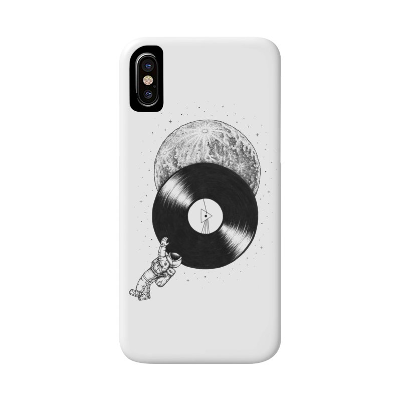 The Dark Side of the Moon Accessories Phone Case by Buko