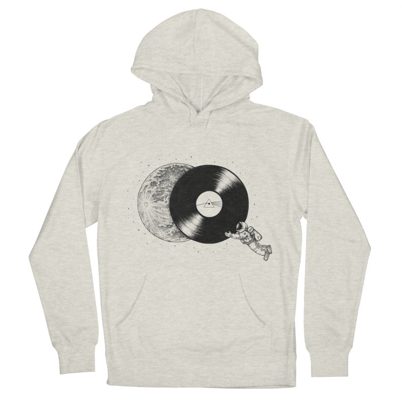 The Dark Side of the Moon Men's Pullover Hoody by Buko
